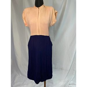 Vintage 60s does the 40s office dress